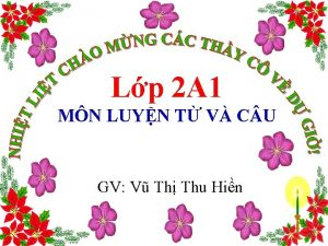 Lp 2 A 1 MN LUYN T V