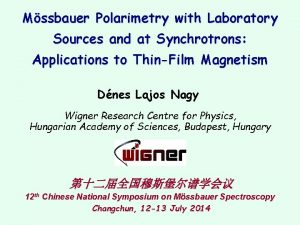 Mssbauer Polarimetry with Laboratory Sources and at Synchrotrons