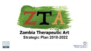 Strategic Plan 2018 2022 Our Vision Access to