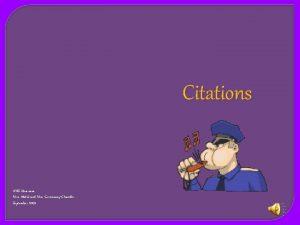Citations AHS librarians Mrs Abdul and Mrs GreenawayChandler