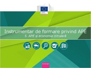 Instrumentar de formare privind APE 5 APE i