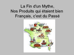 La Fin dun Mythe Nos Produits qui taient
