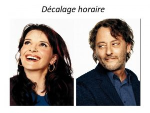 Dcalage horaire French films in top 20 at