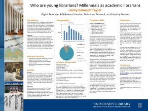 Who are young librarians Millennials as academic librarians