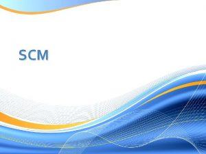SCM Uma parte dos ERP composto por SCM