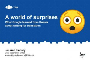 A world of surprises What Google learned from