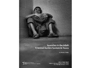 Juvenile Sentencing Options in Texas Juvenile Indeterminate Sentencing