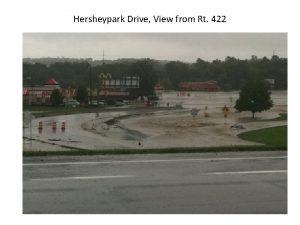 Hersheypark Drive View from Rt 422 Hersheypark Drive