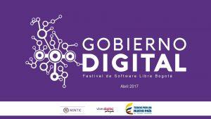 Festival de Software Libre Bogot Abril 2017 Qu