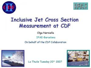 Inclusive Jet Cross Section Measurement at CDF Olga