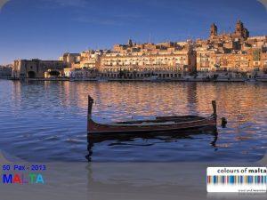 50 Pax 2013 MALTA General Information Malta Population