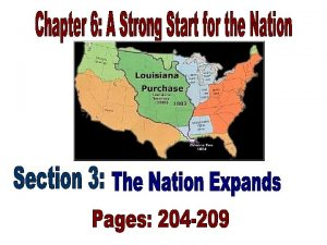 THE ELECTION OF 1800 204 Thomas Jefferson and