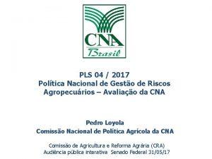 PLS 04 2017 Poltica Nacional de Gesto de