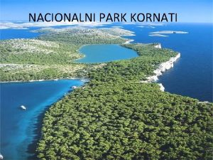 NACIONALNI PARK KORNATI Nacionalni park Kornati Sigurno eli