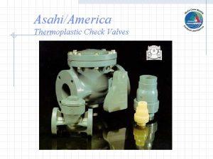 AsahiAmerica Thermoplastic Check Valves Ball Check Valves 4