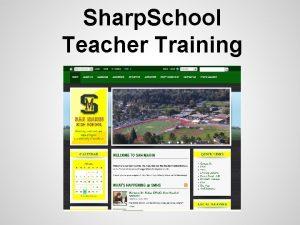 Sharp School Teacher Training Sharp School Login Go