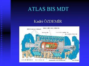ATLAS BIS MDT Kadri ZDEMR Mon Spektrometresi Monlar