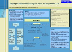 Merging the Medical Microbiology Oncall in a Newly