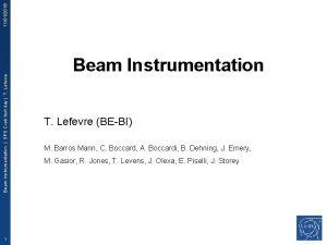 11012016 Beam Instrumentation SPS Crab test day T
