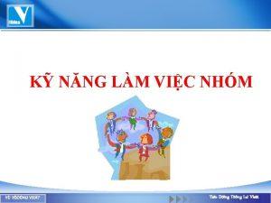 K NNG LM VIC NHM Y TNG VIET
