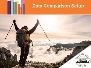 Data Comparison Setup DATA COMPARISON OPS Bibliographic Data