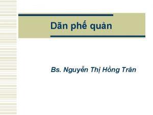 Dn ph qun Bs Nguyn Th Hng Trn