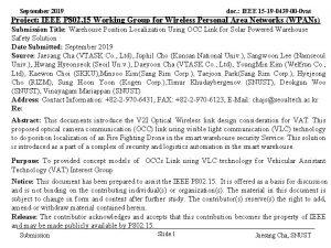 September 2019 doc IEEE 15 19 0439 00