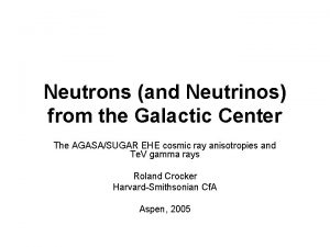 Neutrons and Neutrinos from the Galactic Center The