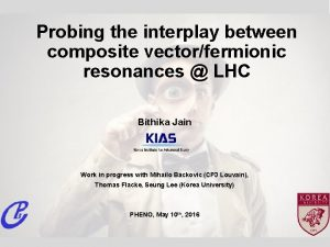 Probing the interplay between composite vectorfermionic resonances LHC