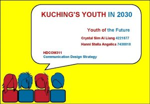 KUCHINGS YOUTH IN 2030 Youth of the Future