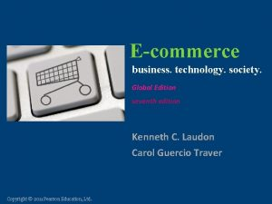 Ecommerce business technology society Ecommerce business technology society