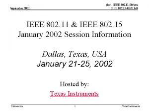 doc IEEE 802 11 00xxx IEEE 802 15