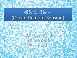 Background Reference RS http jun hansung ac krRSlectures