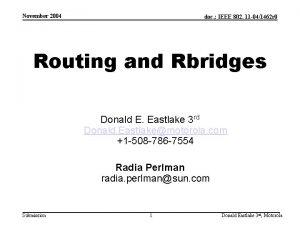 November 2004 doc IEEE 802 11 041462 r