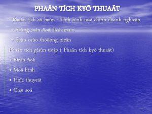 PHA N TCH KY THUAT Phan tch c