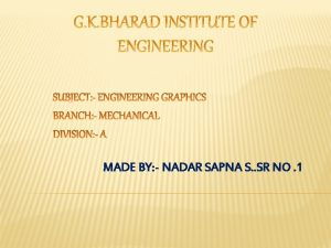MADE BY NADAR SAPNA S SR NO 1