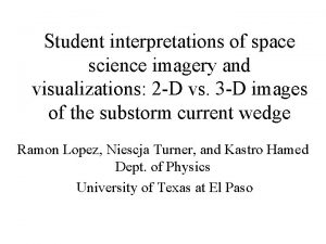 Student interpretations of space science imagery and visualizations