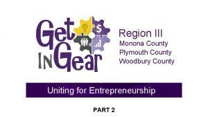 Region III Monona County Plymouth County Woodbury County