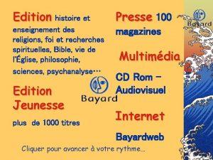Edition histoire et Presse 100 enseignement des religions