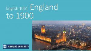 England to 1900 English 1061 England 500 2015