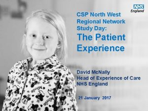 CSP North West Regional Network Study Day The