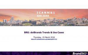 BRG dot Brands Trends Use Cases Thursday 15