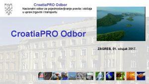 Croatia PRO Odbor Nacionalni odbor za pojednostavljivanje pravila