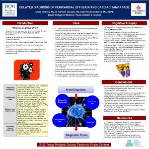 DELAYED DIAGNOSIS OF PERICARDIAL EFFUSION AND CARDIAC TAMPANADE