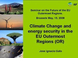Seminar on the Future of the EU Outermost