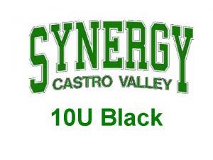 10 U Black Team Staff Roster Coach Coach
