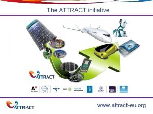 The ATTRACT initiative 1 Overview ATTRACT o o
