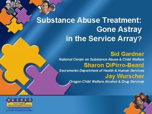 Substance Abuse Treatment Gone Astray in the Service