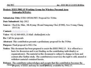 July 2012 doc IEEE 802 15 12 0332