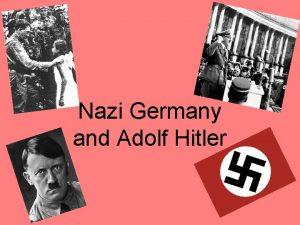 Nazi Germany and Adolf Hitler Weimar Republic Est
